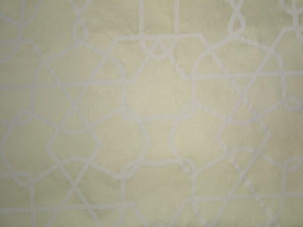 Сатин набивний 30-0198 L.Cream on White